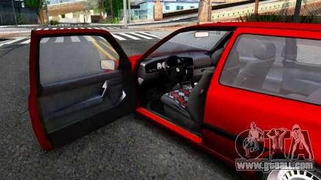 Volkswagen Golf Mk3 1997 for GTA San Andreas back view