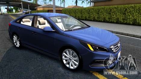 Hyundai Sonata 2016 for GTA San Andreas left view