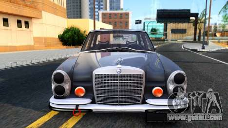 Mercedes-Benz 300SEL 6.3 for GTA San Andreas back view