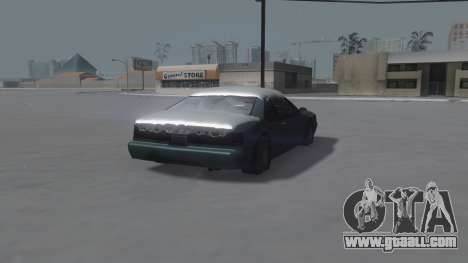 Fortune Winter IVF for GTA San Andreas right view