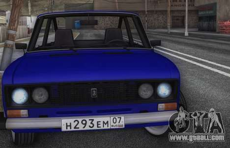 VAZ 2106 KBR for GTA San Andreas right view