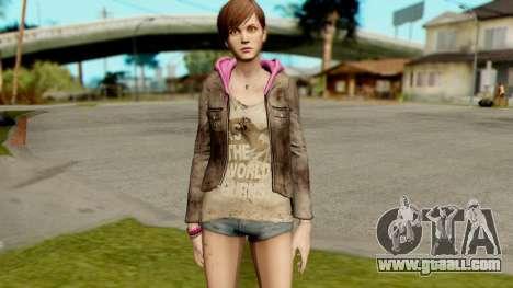 Resident Evil Revelations 2 - Moira Burton for GTA San Andreas second screenshot