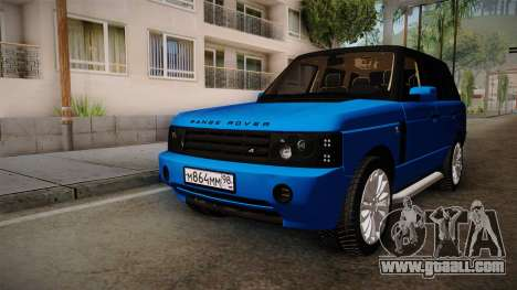 Range Rover 2008 for GTA San Andreas right view