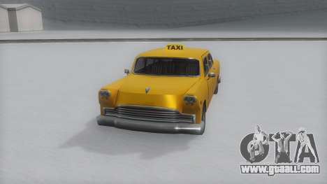 Cabbie Winter IVF for GTA San Andreas
