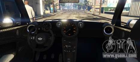 GTA 5 Mini Countryman rear left side view
