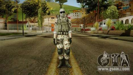 Resident Evil ORC Spec Ops v2 for GTA San Andreas second screenshot