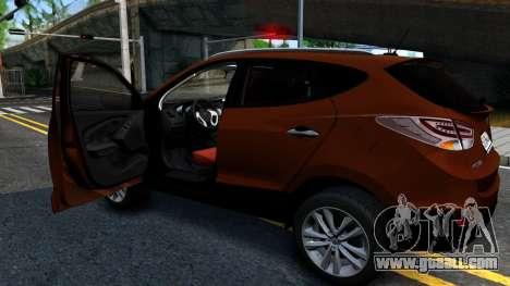 Hyundai ix35 Aze for GTA San Andreas right view