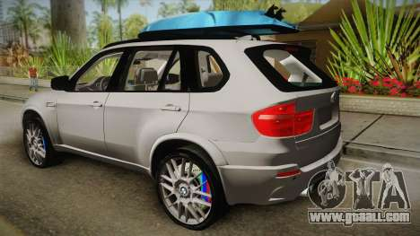 BMW X5M 2012 Special for GTA San Andreas left view