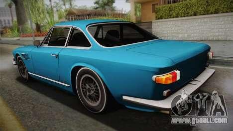 Maserati Serbin 4000 v0.1 (Beta) for GTA San Andreas left view