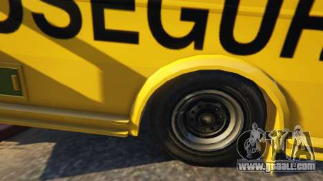 GTA 5 Carro Forte Prosegur Brasil right side view