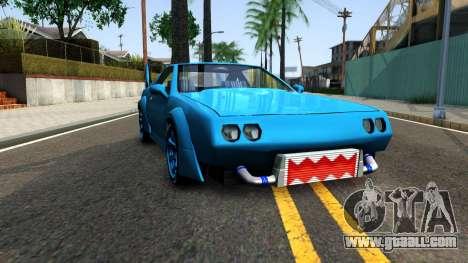 New Buffalo Custom for GTA San Andreas back view