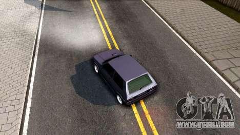 Yugo Koral 45 Sport Tuning for GTA San Andreas back view