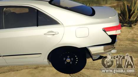 GTA 5 Toyota Camry 2011 DoN DoN Edition rear right side view