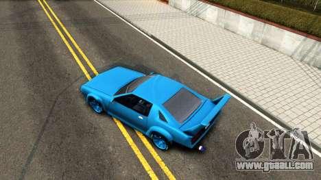 New Buffalo Custom for GTA San Andreas right view