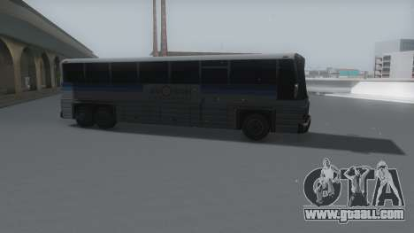 Coach Winter IVF for GTA San Andreas back left view