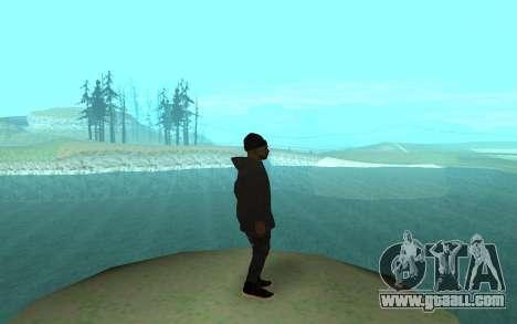 Winter Gangster for GTA San Andreas second screenshot