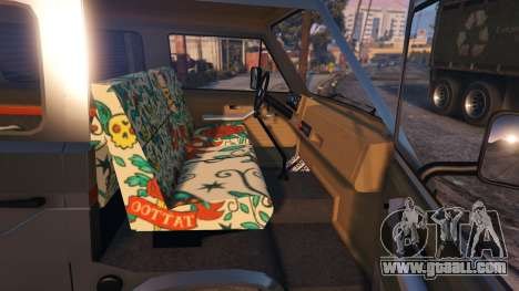 GTA 5 Volkswagen Caravelle T3 (1983) right side view