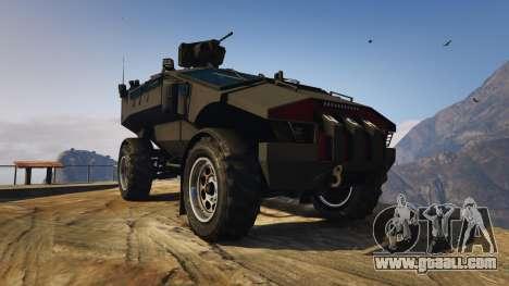 Punisher Black Armed Version for GTA 5