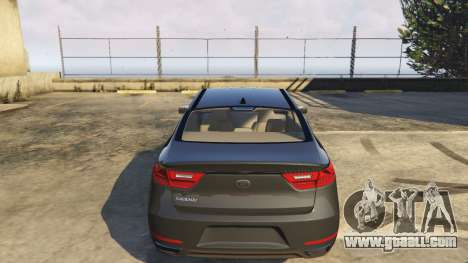 GTA 5 Kia Cadenza 2017 right side view