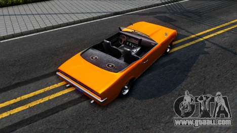 GTA V Declasse Vigero Retro Rim for GTA San Andreas back view