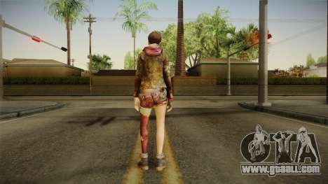 RE Revelations 2 - Moira Burton Survivor for GTA San Andreas third screenshot