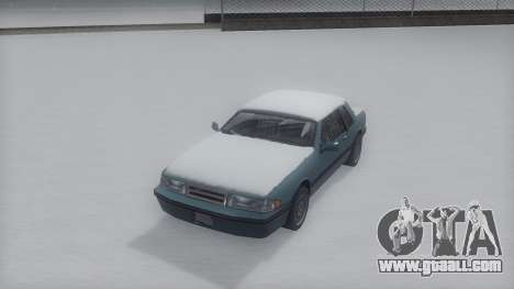 Bravura Winter IVF for GTA San Andreas