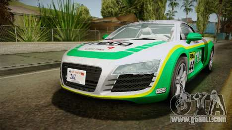 Audi R8 Coupe 4.2 FSI quattro EU-Spec 2008 YCH for GTA San Andreas engine