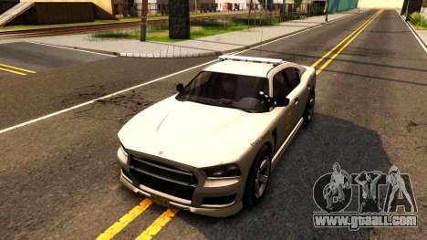 Bravado Buffalo 2012 Iowa State Patrol for GTA San Andreas