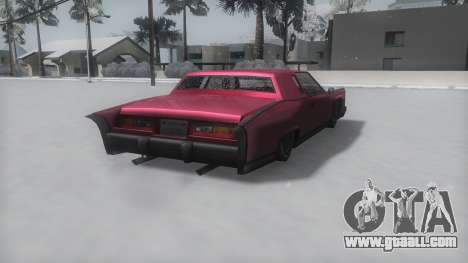 Remington Winter IVF for GTA San Andreas left view