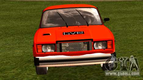 VAZ 2105 patch 4.0 for GTA San Andreas right view