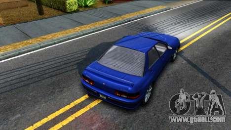 GTA V Zirconium Stratum Sedan for GTA San Andreas back view