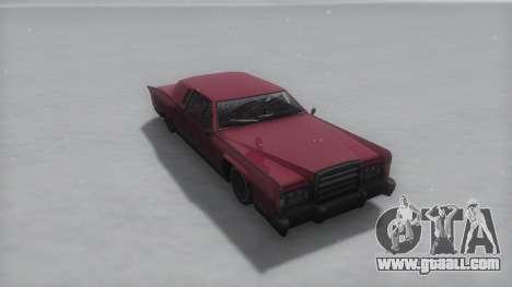 Remington Winter IVF for GTA San Andreas right view