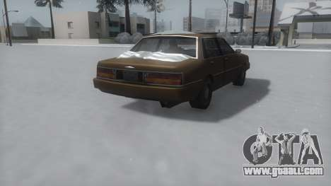 Primo Winter IVF for GTA San Andreas back left view