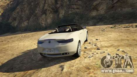 GTA 5 Alfa Romeo Spider 939 (Brera) right side view