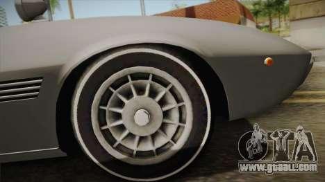 Maserati Ghibli v0.1 (Beta) for GTA San Andreas right view