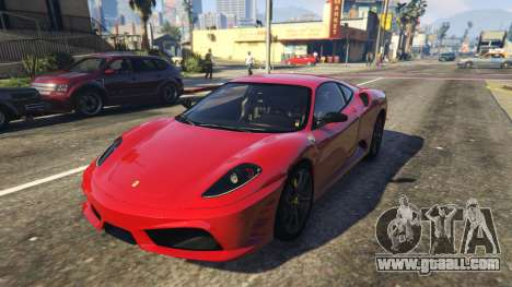 Ferrari 430 Scuderia for GTA 5