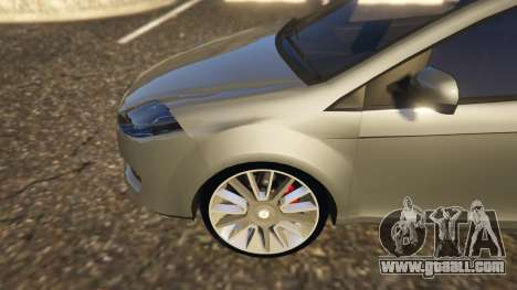 GTA 5 Fiat Bravo 2011 rear right side view