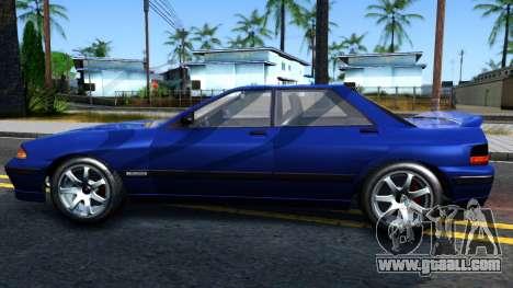 GTA V Zirconium Stratum Sedan for GTA San Andreas left view