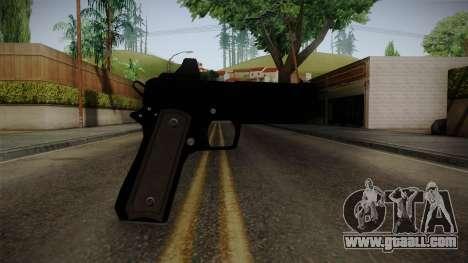 GTA 5 Heavy Pistol for GTA San Andreas third screenshot