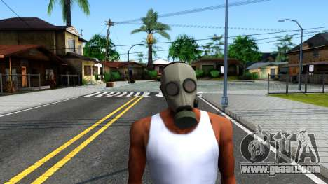 Gas Mask From Call of Duty Modern Warfare 2 for GTA San Andreas second screenshot