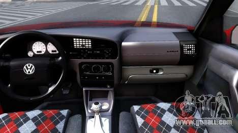 Volkswagen Golf Mk3 1997 for GTA San Andreas inner view