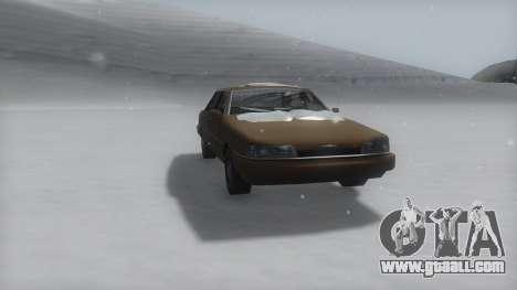 Primo Winter IVF for GTA San Andreas right view