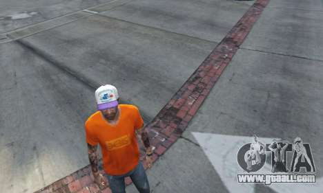 GTA 5 Cap Charlotte Hornets for Trevor second screenshot
