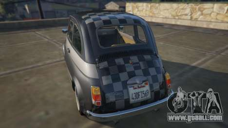 Fiat Abarth 595ss Racing ver for GTA 5