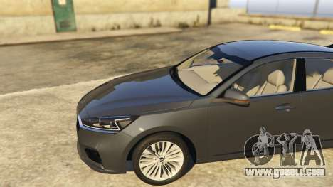 GTA 5 Kia Cadenza 2017 rear right side view