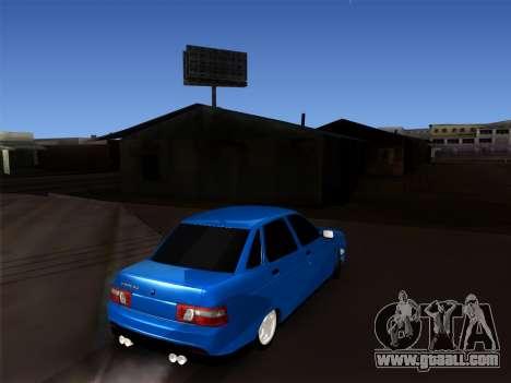 VAZ 2110 BPAN for GTA San Andreas right view