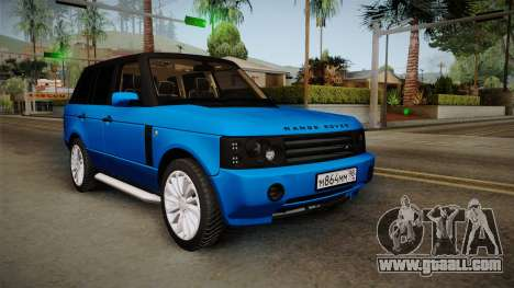 Range Rover 2008 for GTA San Andreas