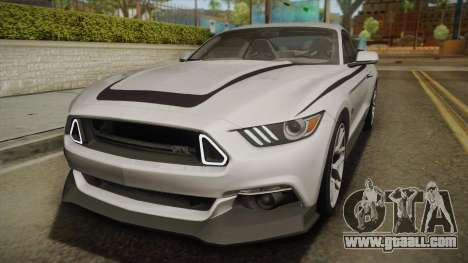 Ford Mustang RTR Spec 2 2015 for GTA San Andreas side view