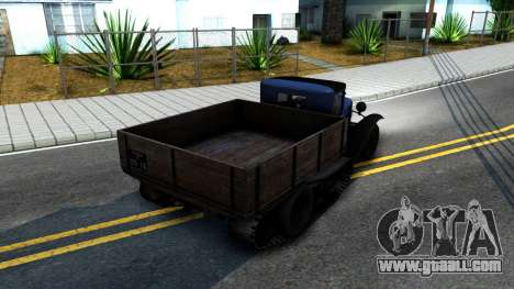 1940 GAZ-65 for GTA San Andreas back left view