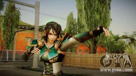Dynasty Warriors 8 - Xing Cai for GTA San Andreas